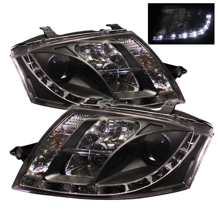 Original 8n Headlight : Audi tt n chrome led drl daylight running